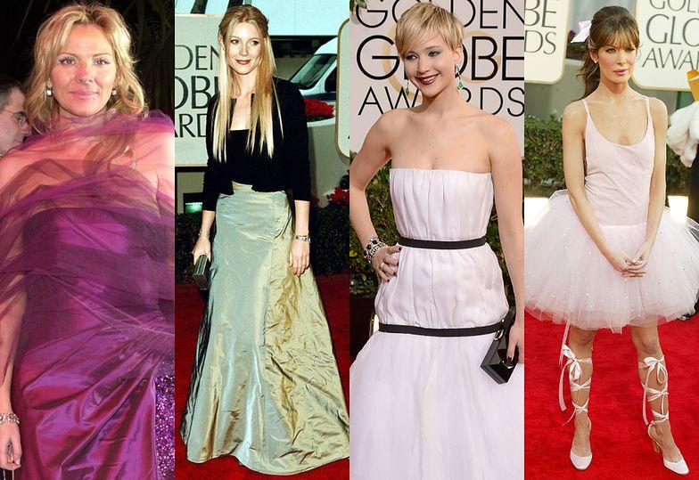 Kim Cattrall, Gwyneth Paltrow, Jennifer Lawrence i Lara Flynn Boyle