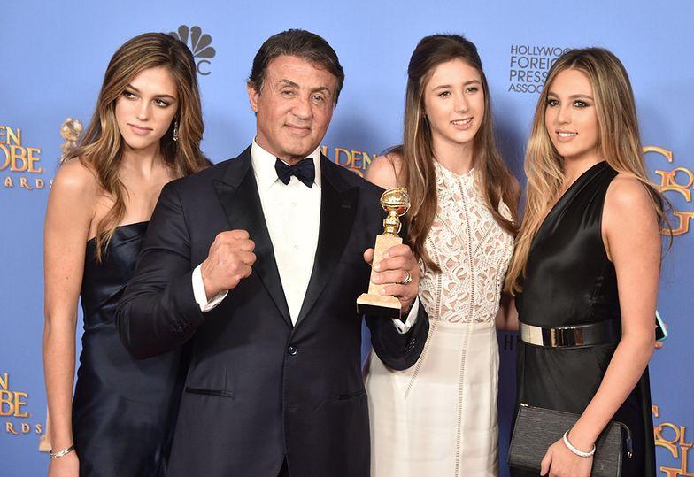 Tak wyglądają córki Sylvestra Stallone'a