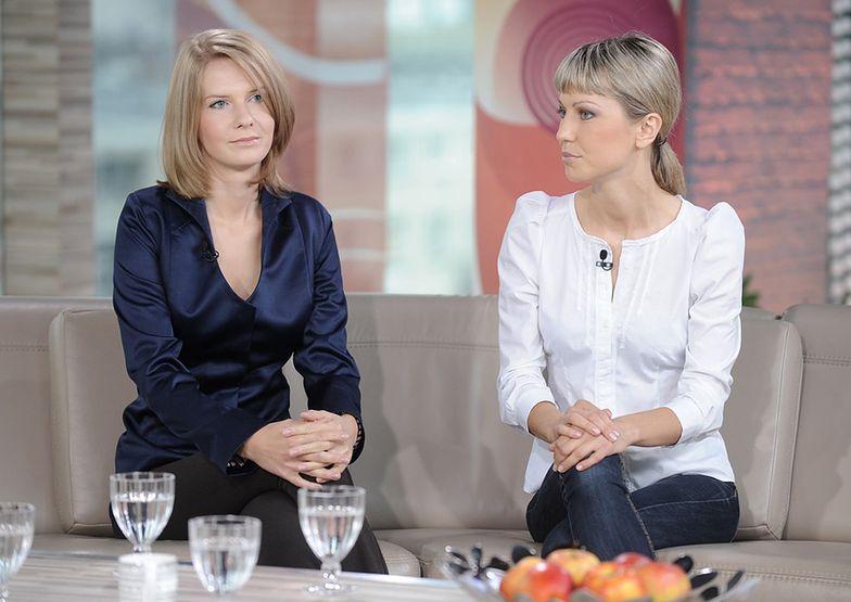 Magdalena Ogórek i Edyta Pazura