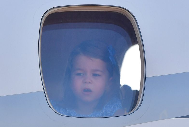 Kate, William, Jerzy i Charlotte wylądowali w Berlinie