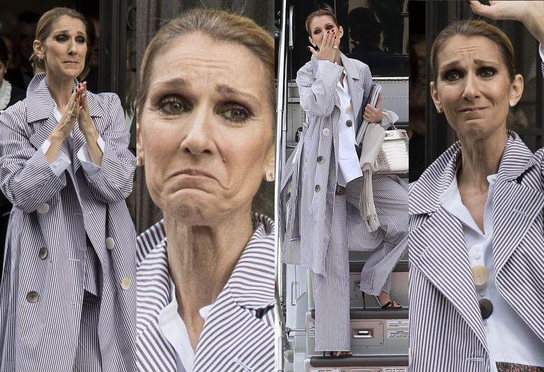 Celine Dion wyjeżdża z Paryża