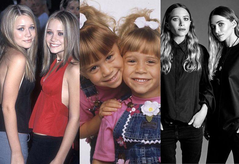 """Mary-Kate i Ashley Olsen: Zobacz jak zmieniały się """"najsłynniejsze bliźniaczki świata"""""""
