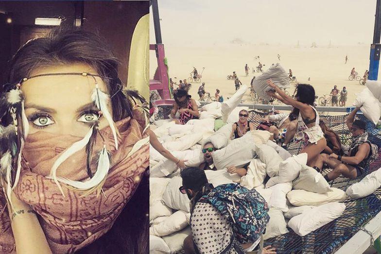 Natalia Siwiec na Burning Man Festival