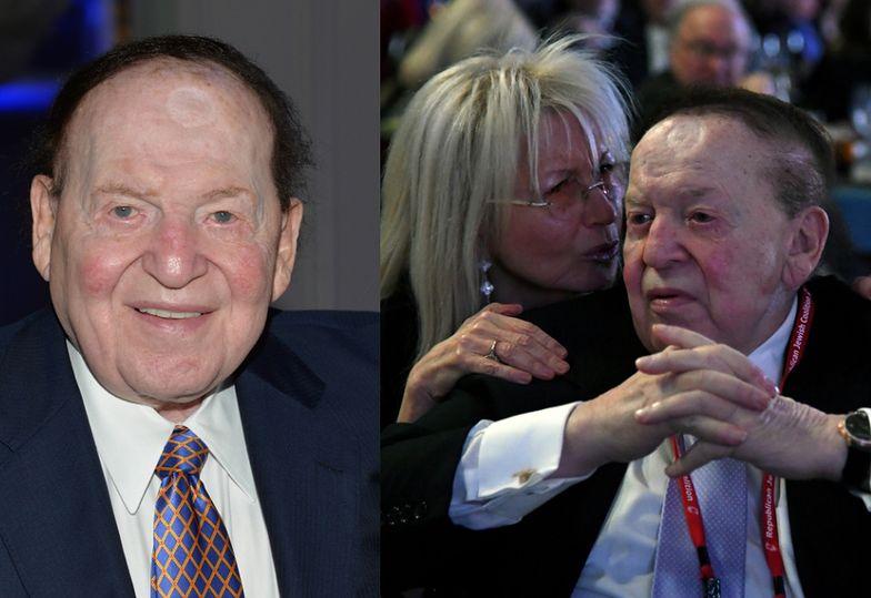 1. Sheldon Adelson - 127 miliardów złotych