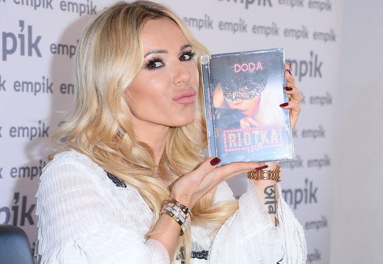 Doda promuje swoje koncertowe DVD