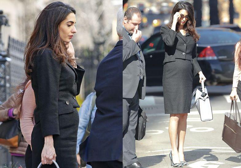 Amal Clooney w Nowym Jorku