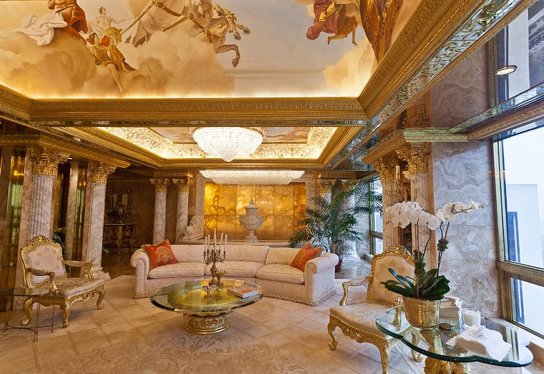 Nowojorski apartament Donalda Trumpa
