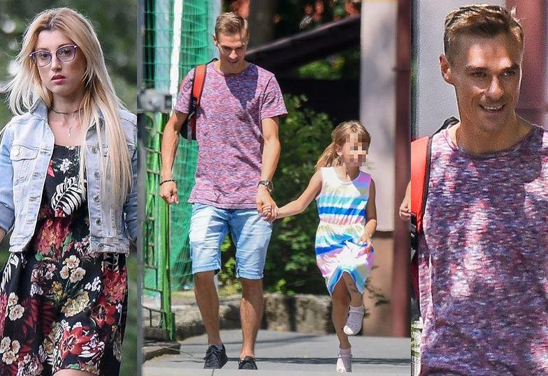 Piotr Żyła odwozi dzieci do Justyny
