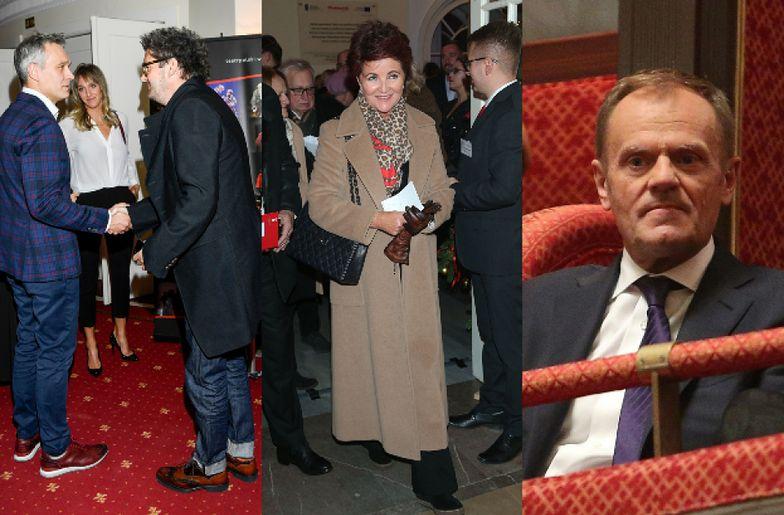 Gwiazdy, celebryci i politycy bawią się na jubileuszu Seweryna