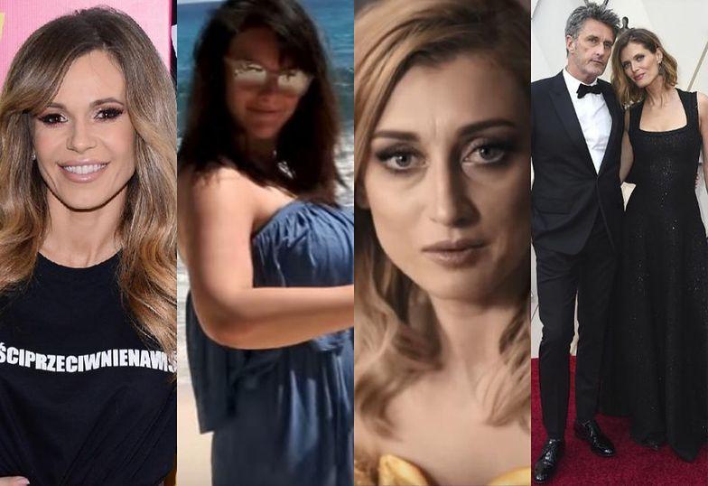 """Zdjęcia Tygodnia: Oscary, ciąża Ewy Farny, """"kariera"""" Justyny Żyły i """"Artyści Przeciw Nienawiści"""""""