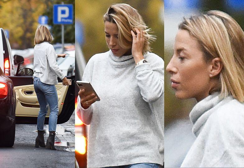 Chodakowska wysiada z Bentleya