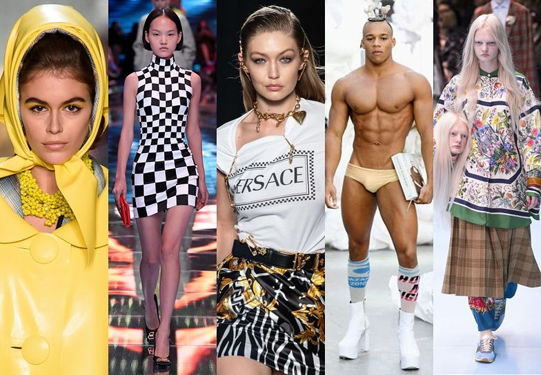 Najlepsze, najgłośniejsze i najdziwniejsze pokazy mody 2018 roku