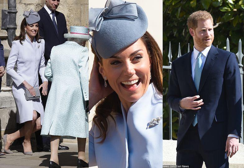 Brytyjska rodzina królewska świętuje Wielkanoc