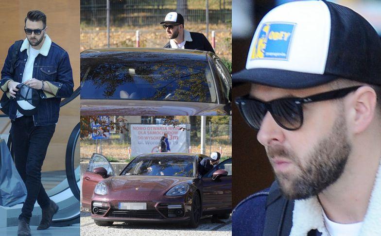 Hyży umacnia wizerunek macho w Porsche za 800 TYSIĘCY ZŁOTYCH
