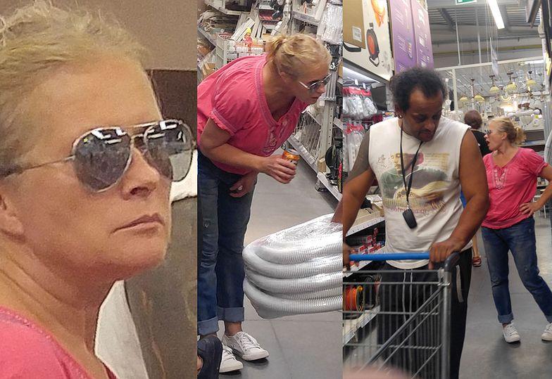 Urszula z mężem na zakupach