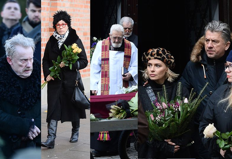 Pogrzeb Zuzanny Łapickiej