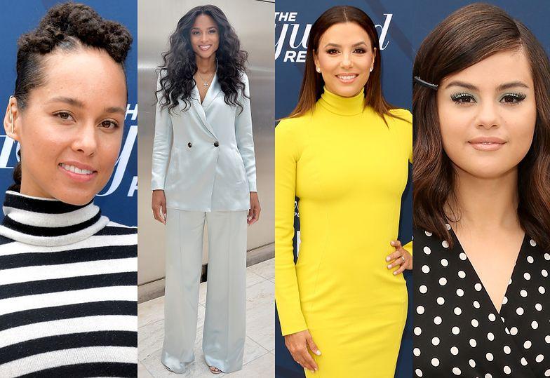 Alicia Keys, Ciara, Eva Longoria i Selena Gomez