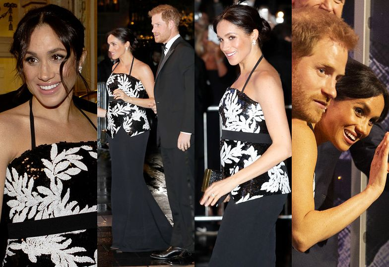 Księżna Meghan i książę Harry bawią się na Royal Variety Performance
