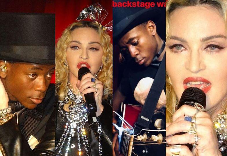 Madonna dała minikoncert sylwestrowy