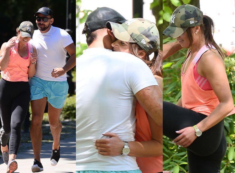 Igor i Angelika na romantycznym joggingu