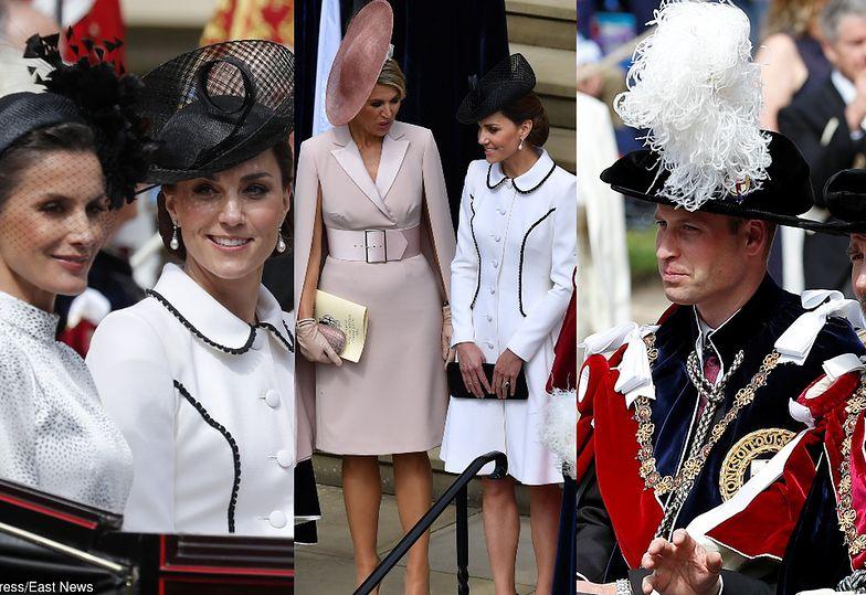 Księżna Kate wita gości na Orderze Podwiązki