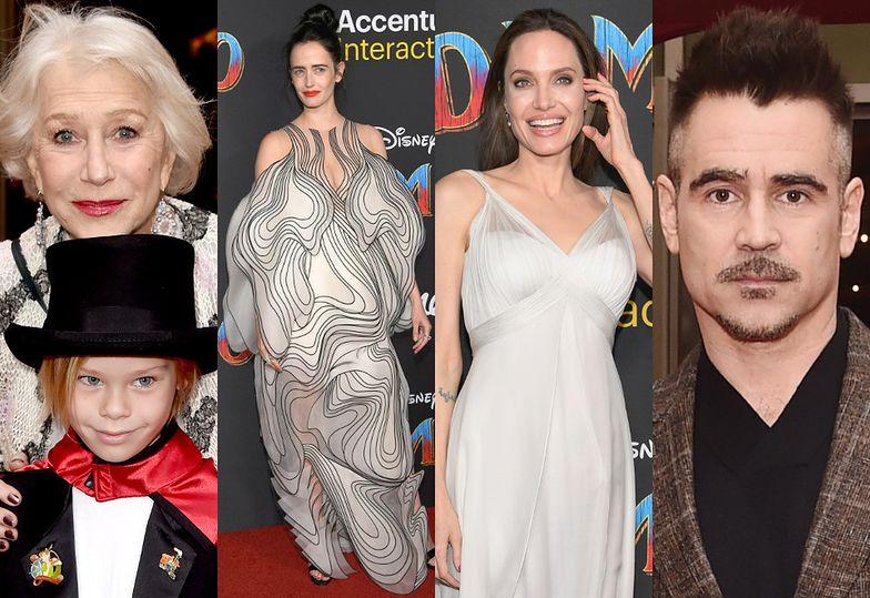 Helen Mirren z wnuczkiem, Eva Green, Angelina Jolie i Colin Farrell