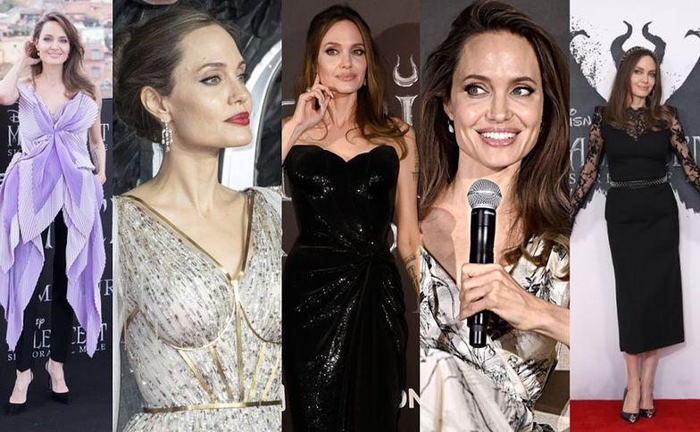 """Zjawiskowa Jolie promuje """"Czarownicę 2"""""""