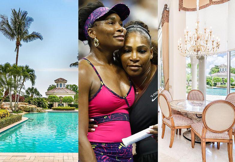 Tak wygląda rezydencja Venus i Sereny Williams w Palm Beach