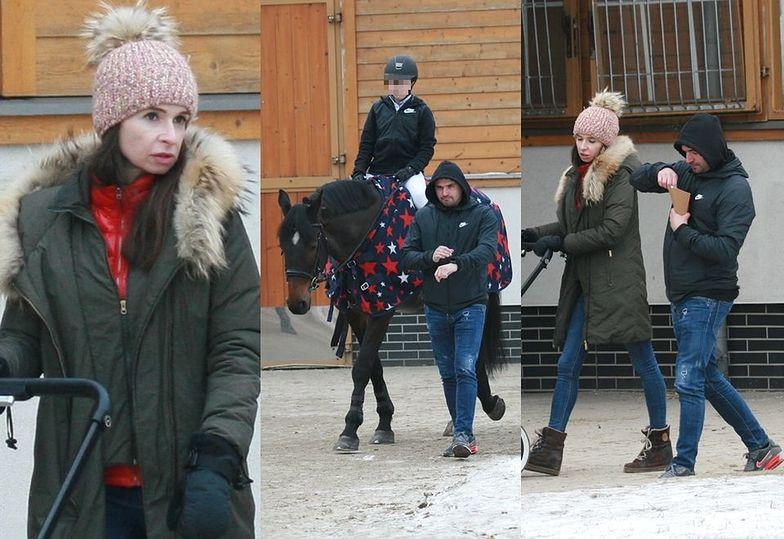 Kaczyńska i Dubieniecki kibicują córce na zawodach konnych