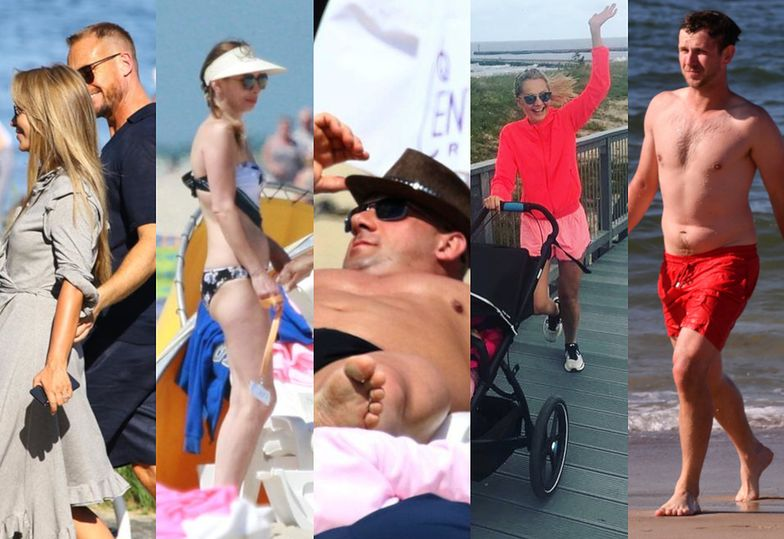 Gwiazdy wybierają polskie morze, choć mogłyby uciec na Bahamy: Joanna Przetakiewicz, Agnieszka Dygant, Małgorzata Socha, Robert Burneika
