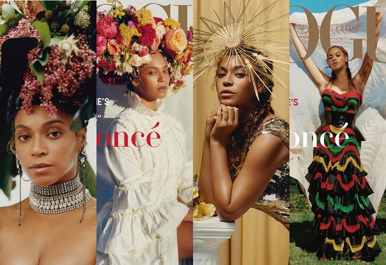 "Naturalna Beyonce na ostatniej (?) okładce ""Vogue'a"" pod rządami Anny Wintour"