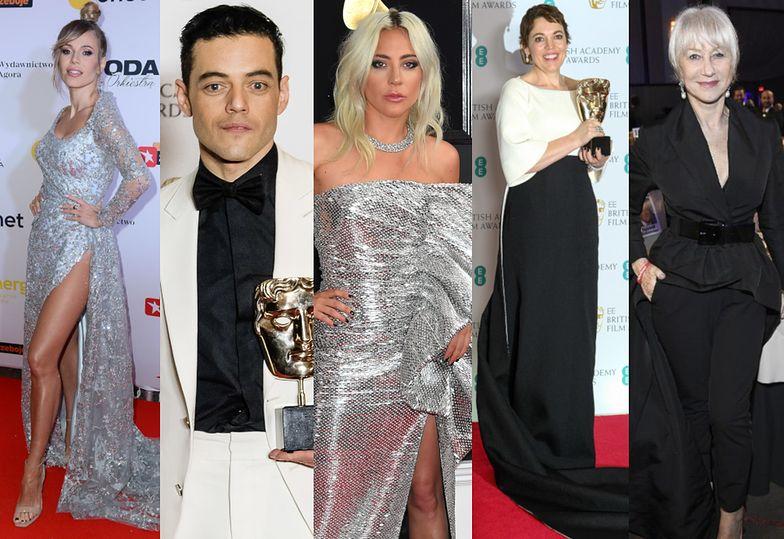 Najlepsze stylizacje tygodnia: błyszcząca Lady Gaga, elegancka Doda, szarmancki Rami Malek