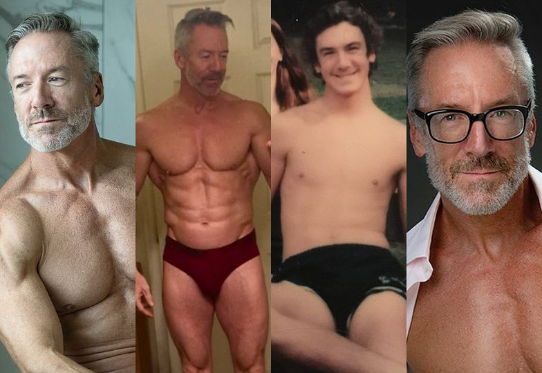 Oto Clayton Paterson, seksowny 60-latek