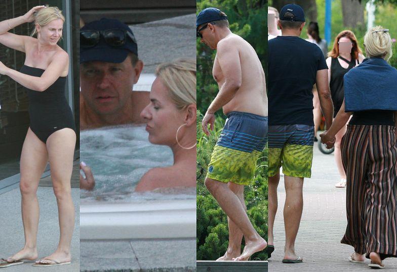 Ryszard Petru i Joanna Schmidt na wakacjach