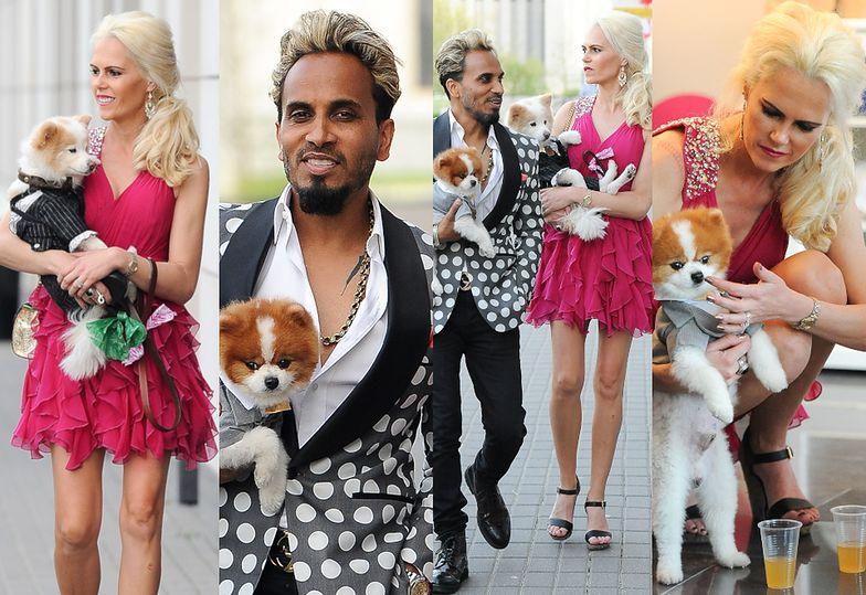 Landrynkowa Iwona Burnat z mężem otwierają salon piękności dla psów w Warszawie