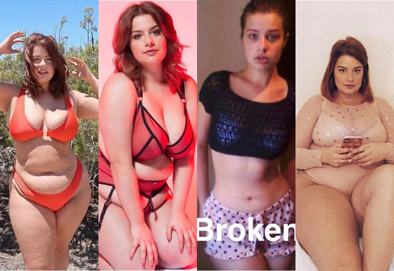 Aliss Bonython przytyła 25 KILOGRAMÓW, żeby zostać modelką plus size