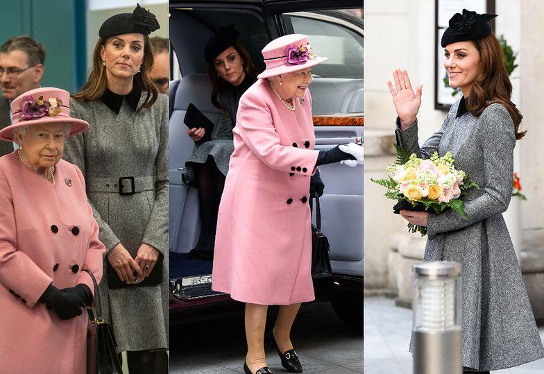 Ksieżna Kate i królowa Elżbieta odwiedziły uniwersytet
