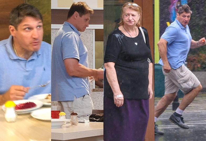Andrzej Gołota z mamą na pysznym obiadku w stołecznym barze mlecznym