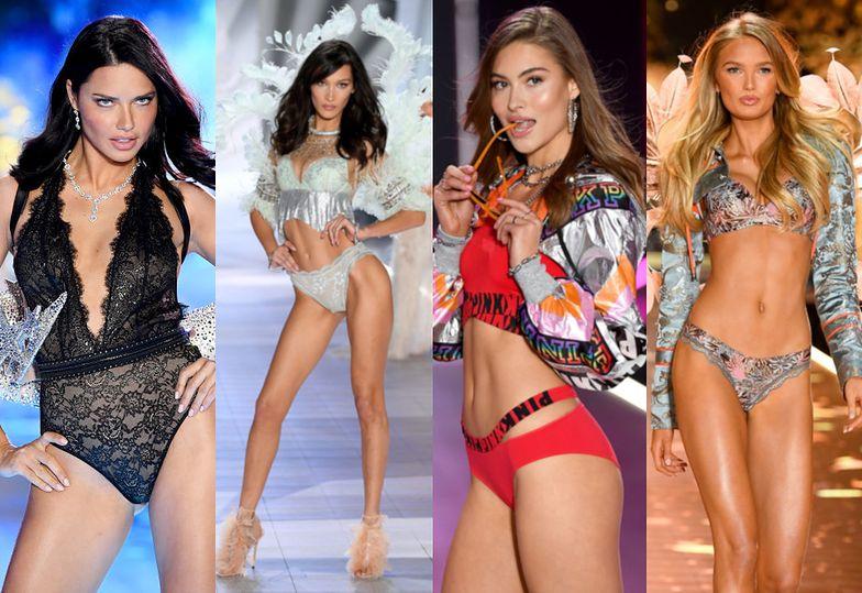 Pokaz Victoria's Secret 2018: półnagie piękności i stanik wart MILION DOLARÓW