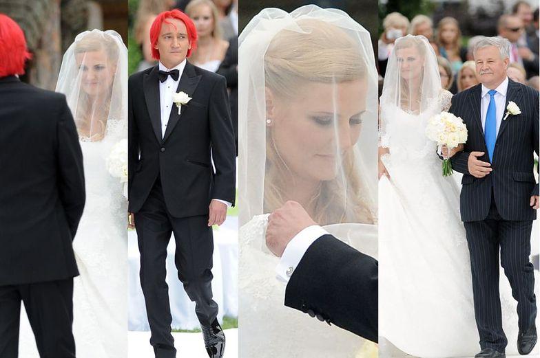 Wiśniewscy się rozwodzą. Pamiętacie ich ślub?
