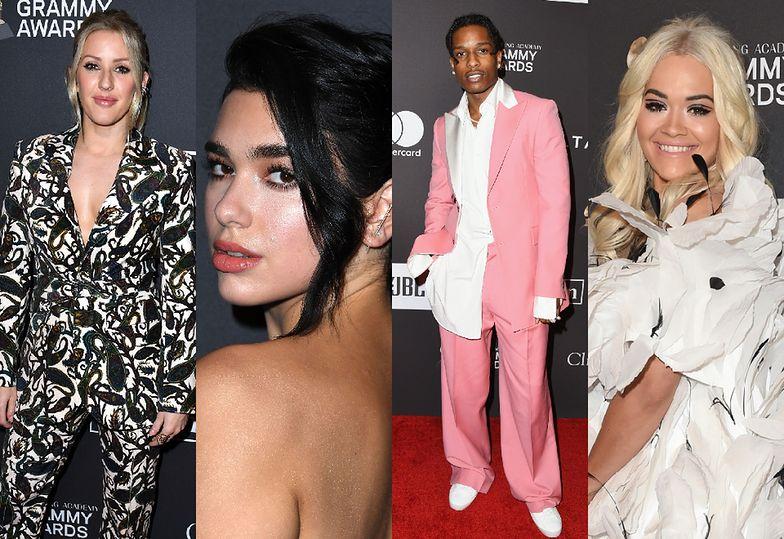 Gwiazdy na imprezie Clive'a Davisa przed galą Grammy 2019