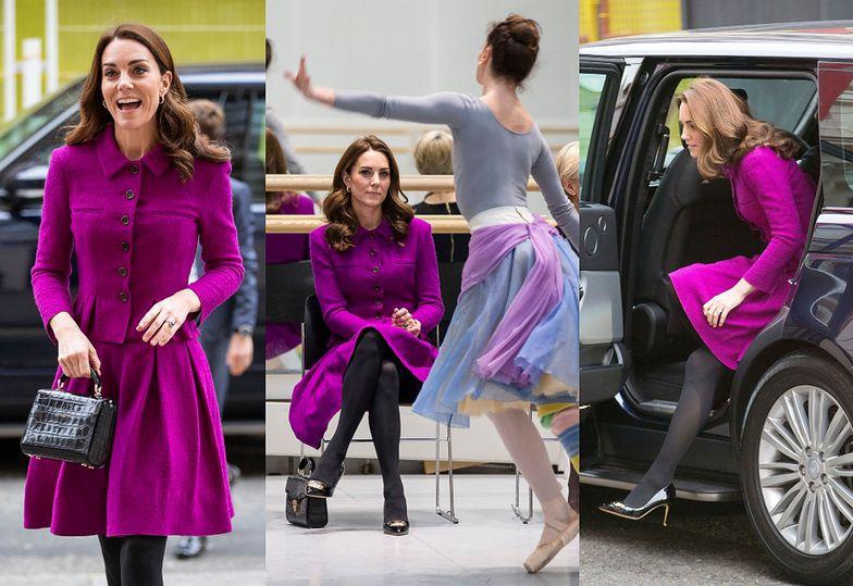 Księżna Kate w Royal Opera House w Londynie
