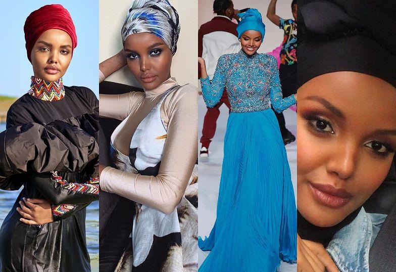 "Oto Halima Aden, ""modelka w hidżabie"""
