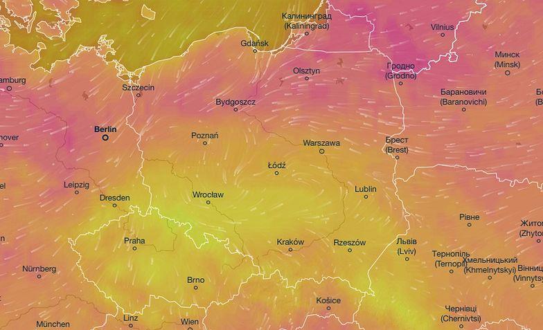 Pogoda na dziś - czwartek 25 czerwca. Najcieplej na wschodzie i północy. Gdzie będzie padać?