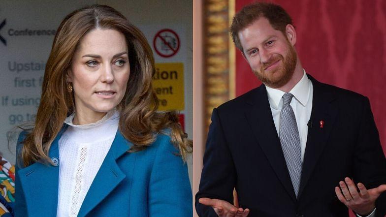 "Kate Middleton źle znosi rozłąkę z  Harrym? ""TĘSKNI ZA NIM"""