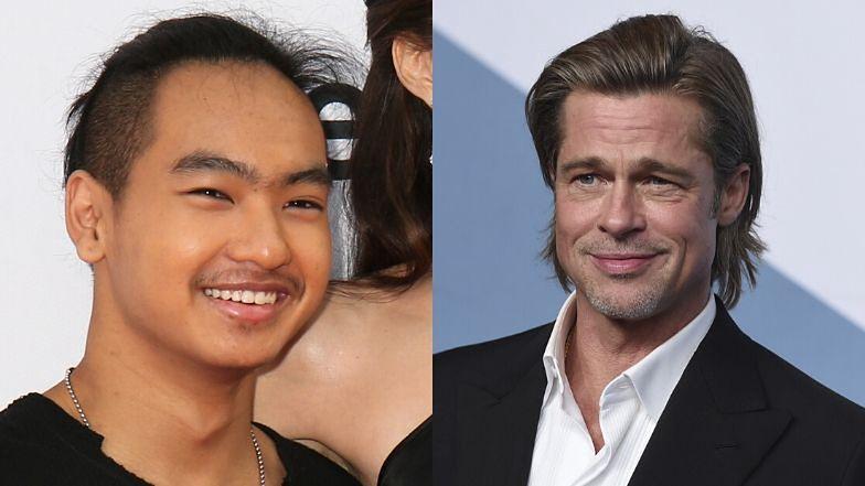 """Brad Pitt nie zjawił się na BAFTA, bo chciał... POGODZIĆ SIĘ Z SYNEM? """"Rzucił wszystko i natychmiast do niego pojechał"""""""
