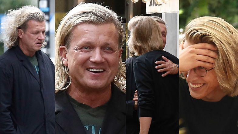 Jarosław Jakimowicz ociepla relacje z synem na wspólnym lunchu