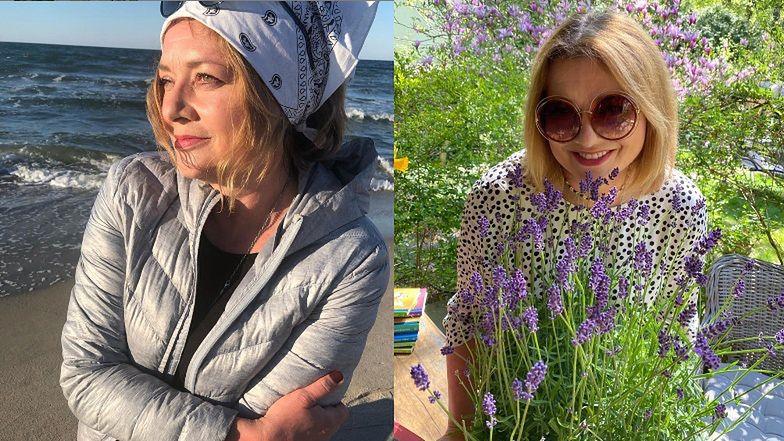 """Melancholijna Małgorzata Ostrowska-Królikowska duma na Instagramie: """"Niebo łączy się z falami, które szepczą językiem ukojenia"""""""