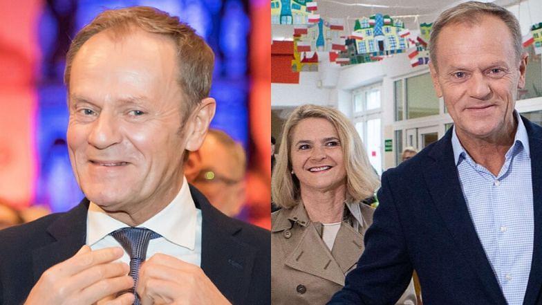 """Romantyczny Donald Tusk świętuje Dzień Zakochanych u boku żony: """"W Walentynki zawsze jest wiosna"""" (FOTO)"""
