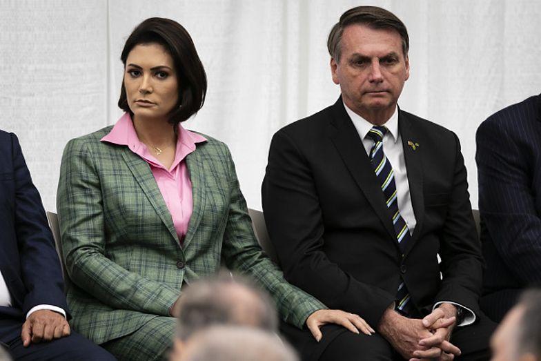 Żona prezydenta Brazylii zarażona! Zachorowała na COVID-19